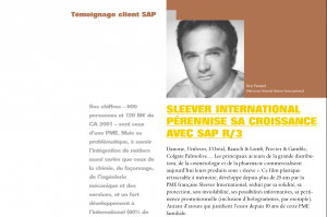 Témoignage Client - Sleever International