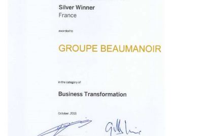 Récompense - SAP Quality Awards 2015